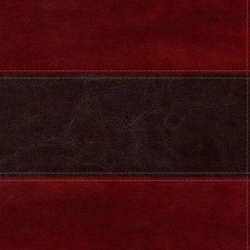 Biblia del Pescador – caoba simil piel de lujo
