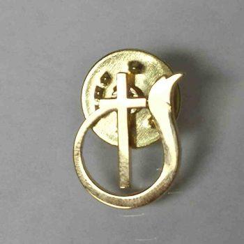 Prendedor logo IDD(Dorado)