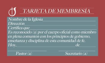 Tarjeta Membresia Pq. 100 Color