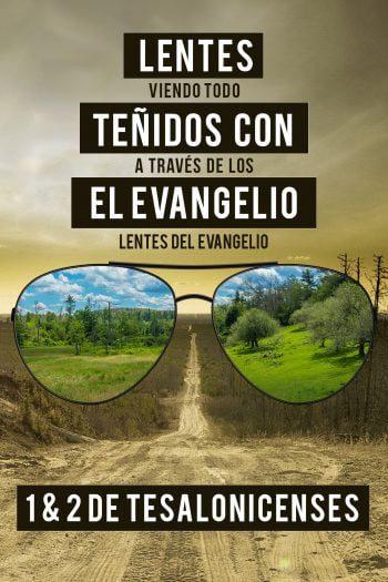 Lentes Tenidos Con El Evangelio
