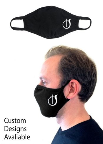 COG Logo Face Mask-Black