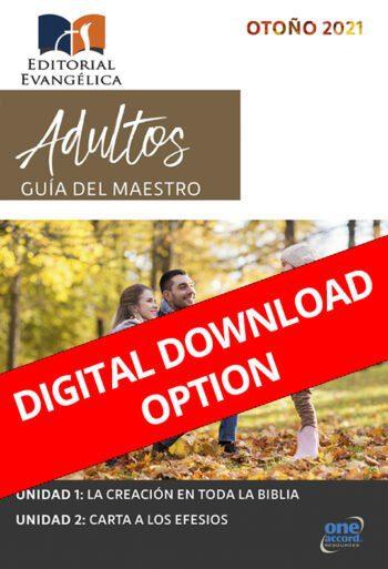 Adultos Guia del maestro Otoño 2021 Digital